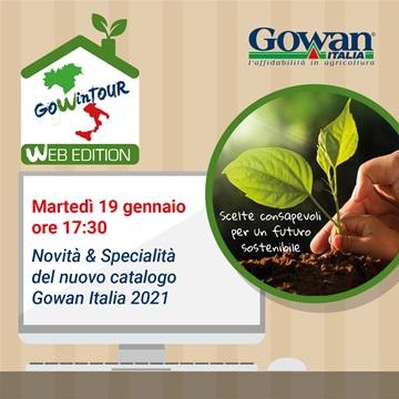 Webinar - presentazione catalogo Gowan